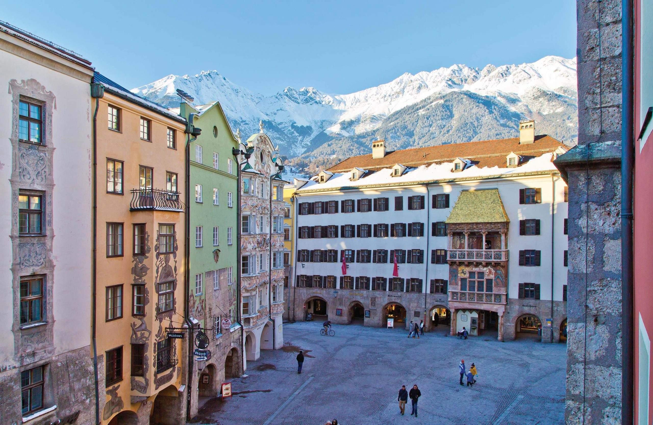 Absteige im Zentrum Innsbrucks