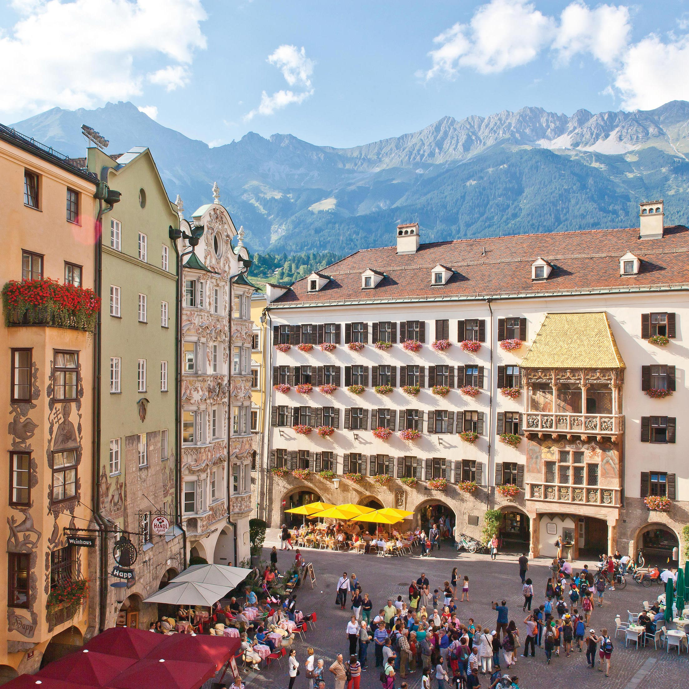 City trip to Innsbruck, stay at the Absteige