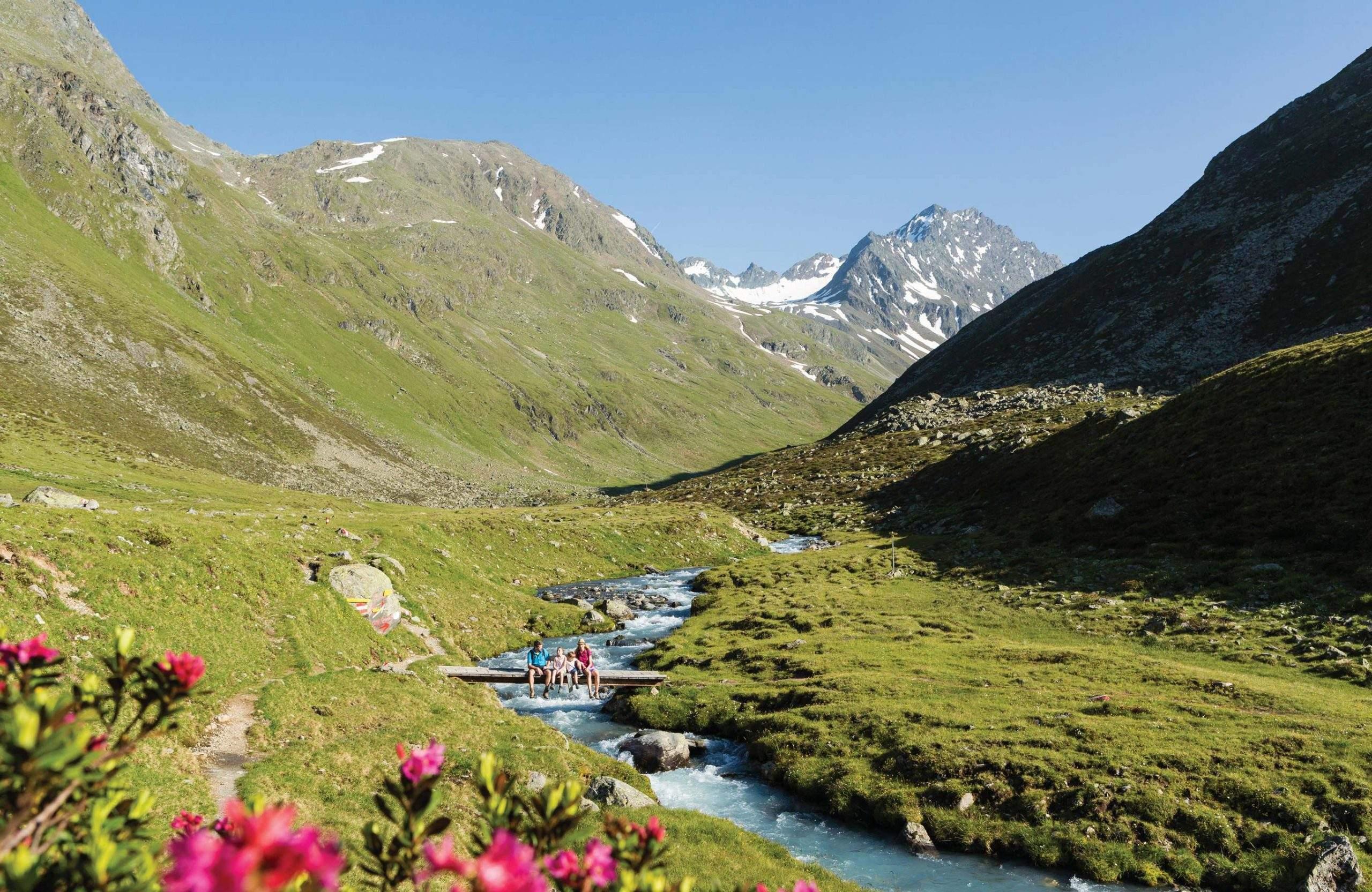 Sellraintal, Wanderurlaub Innsbruck und Tirol
