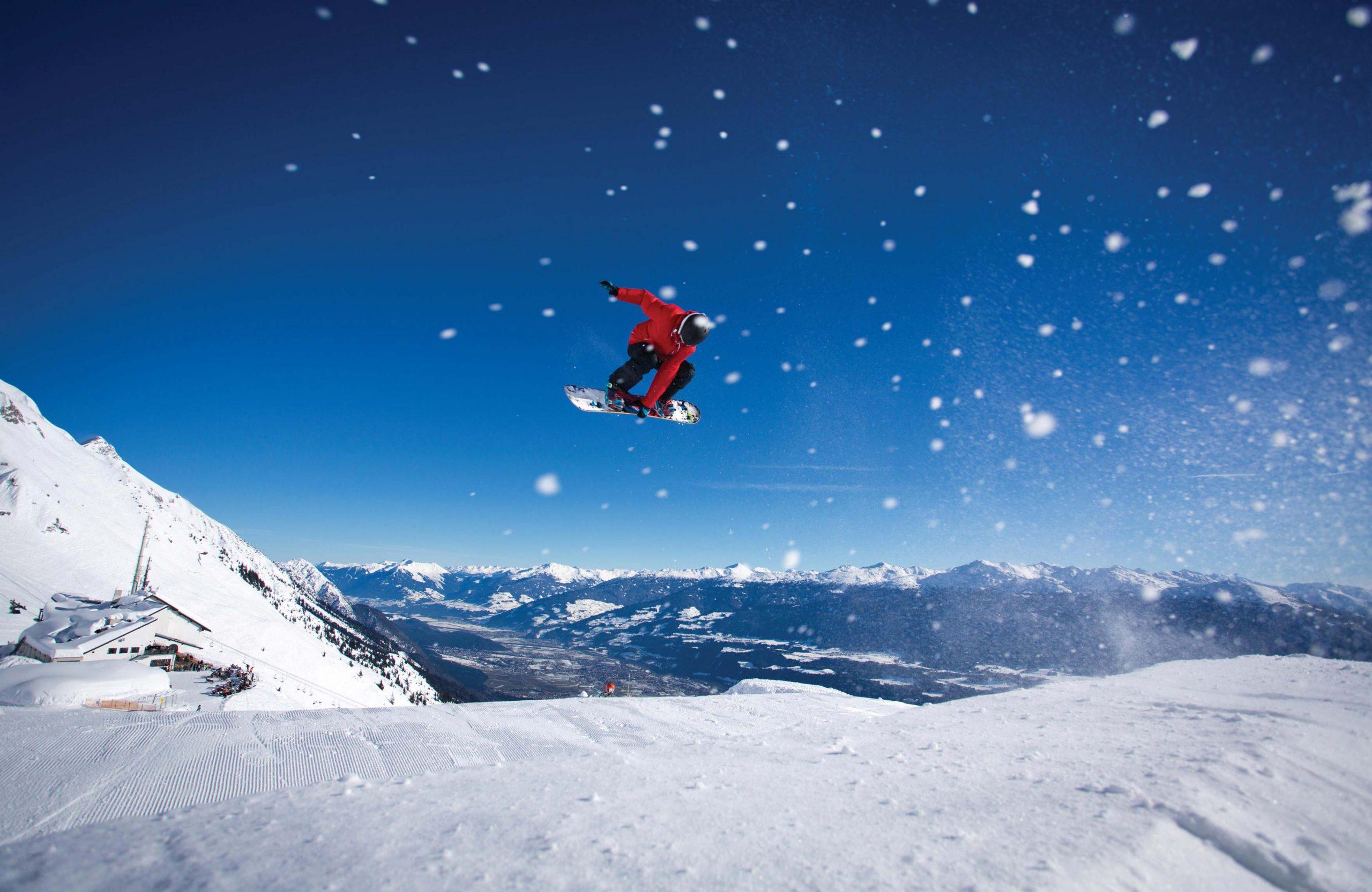 Snowboarding in Innsbruck