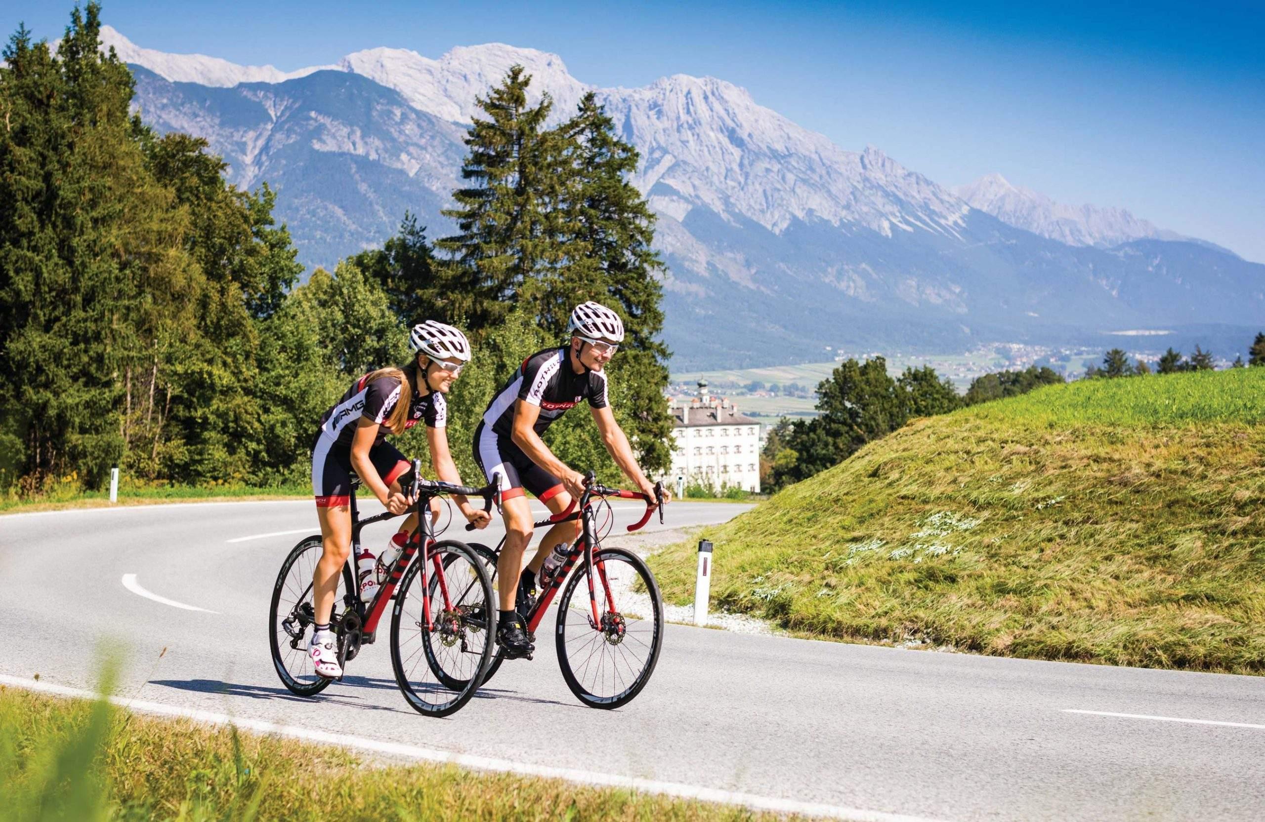 Rennradstrecke Innsbruck