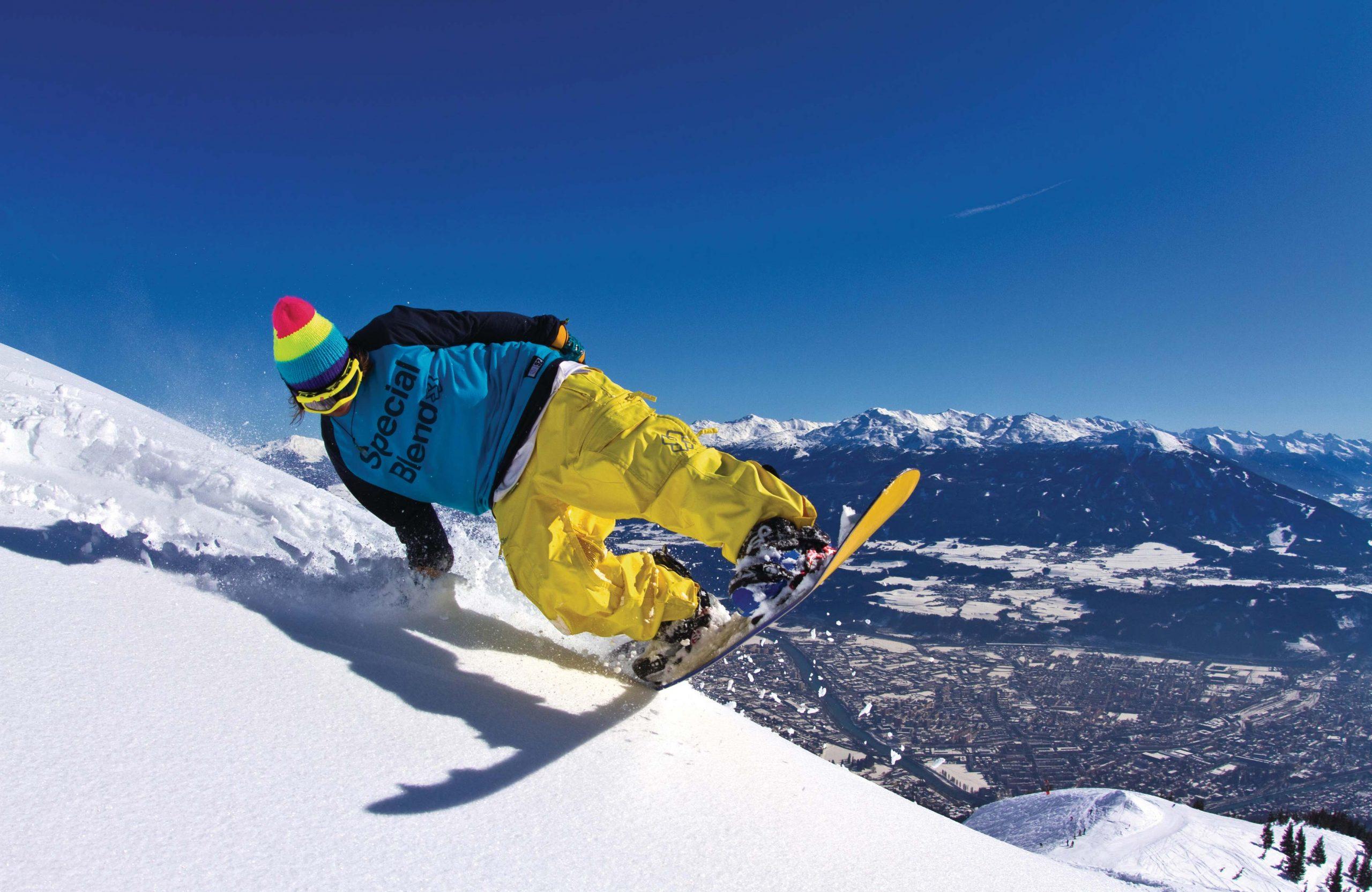 Nordkette Snowboarden Innsbruck