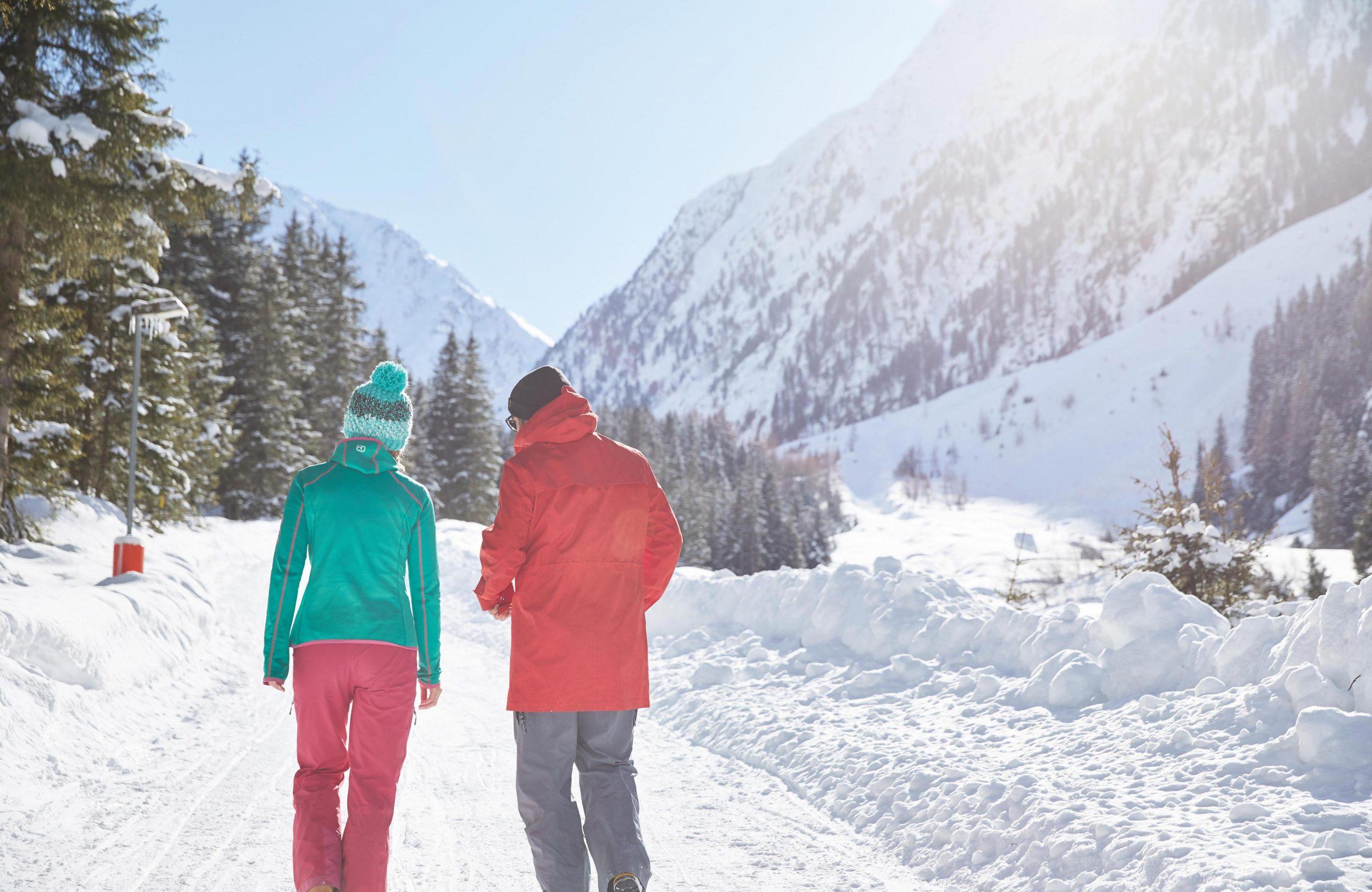 Winterholiday at Absteige, Wanderung Gleirschalm
