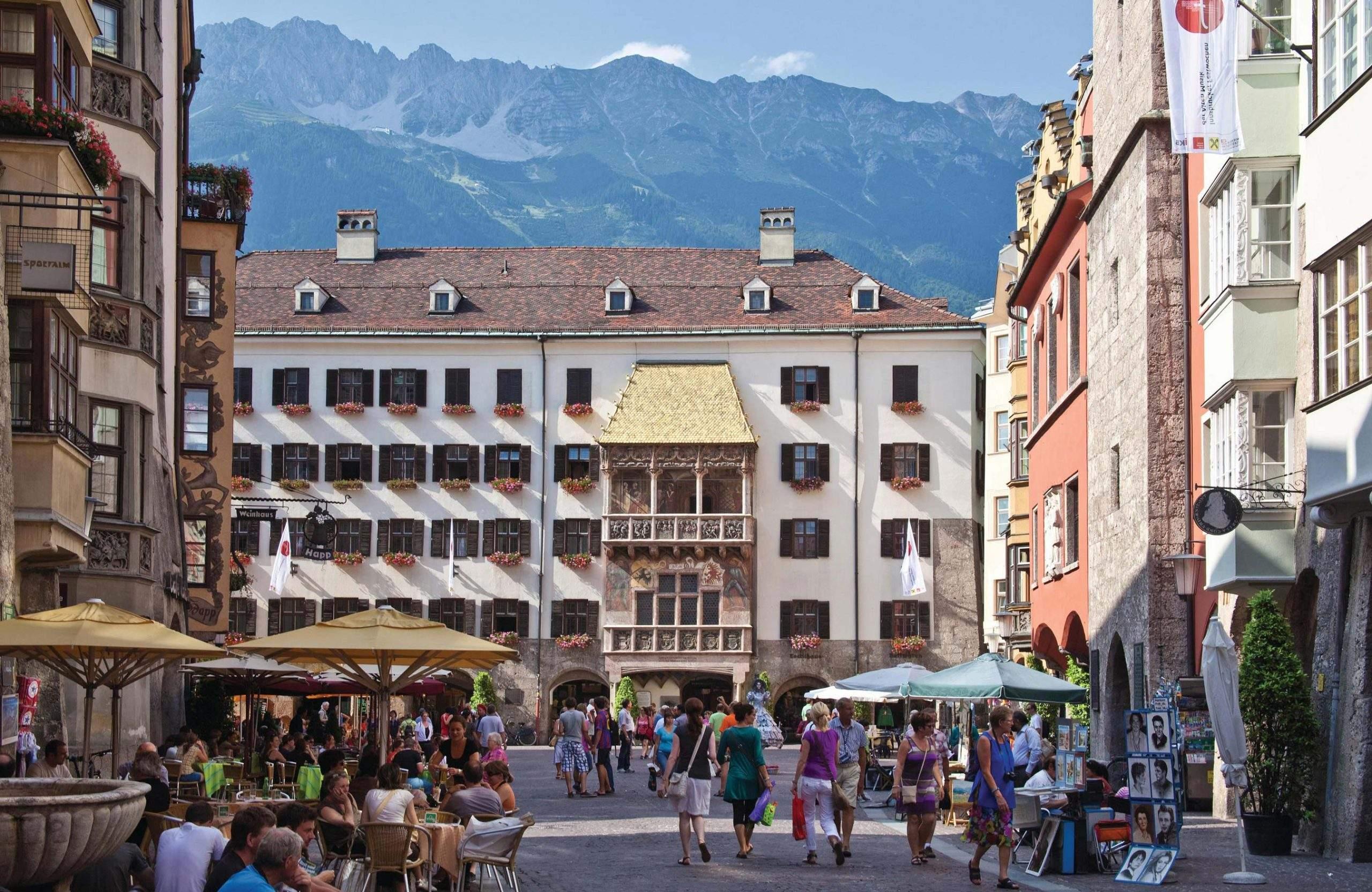 Altstadt Innsbruck, Goldenes Dachl