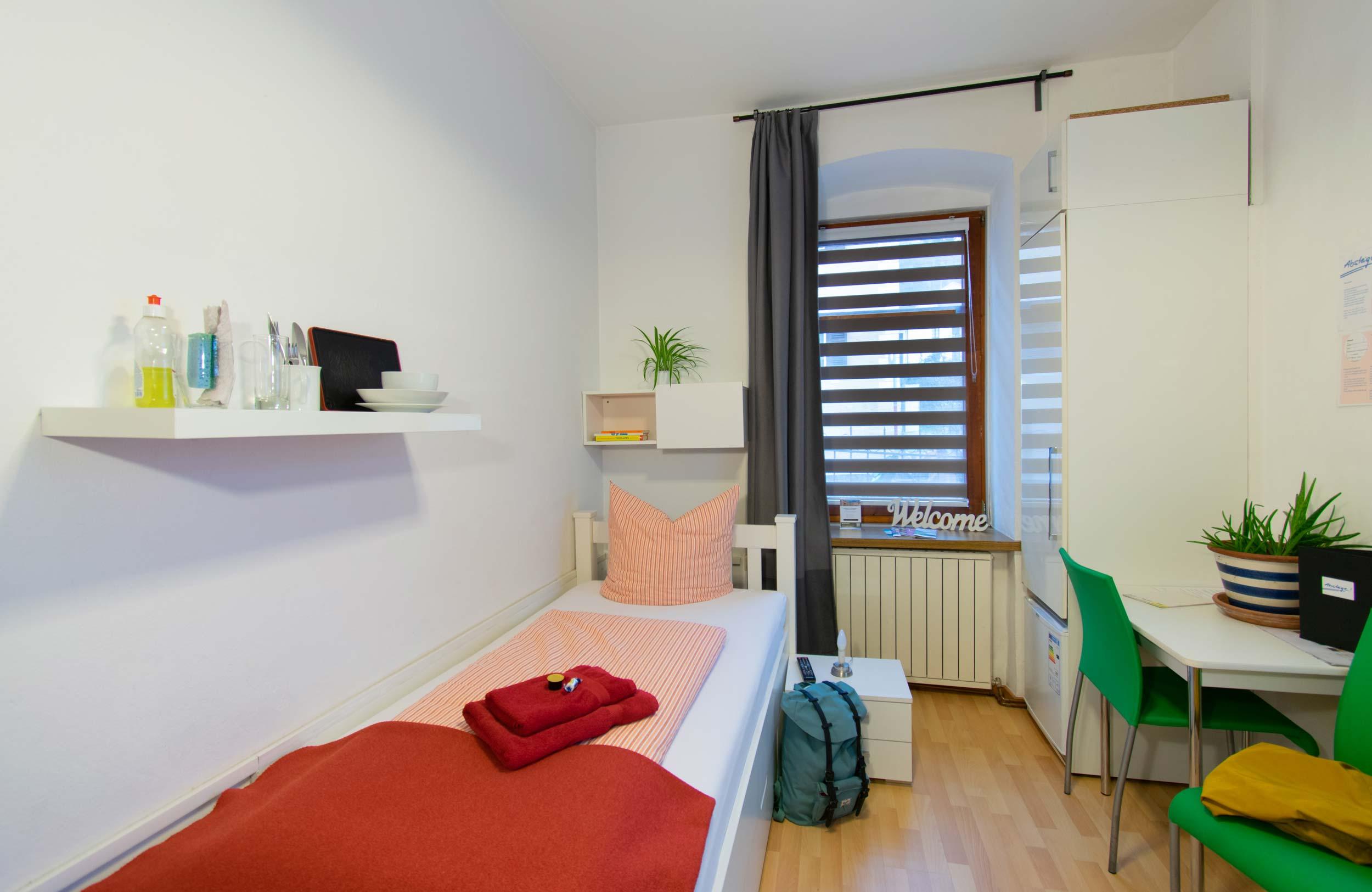 Einzelzimmer im Zentrum Innsbrucks