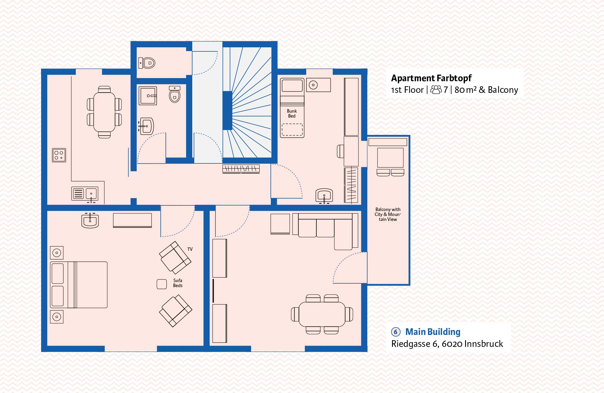 Absteige_Grundrisse_Floorplan_Holiday_Apartment_Innsbruck_Tirol_Austria4