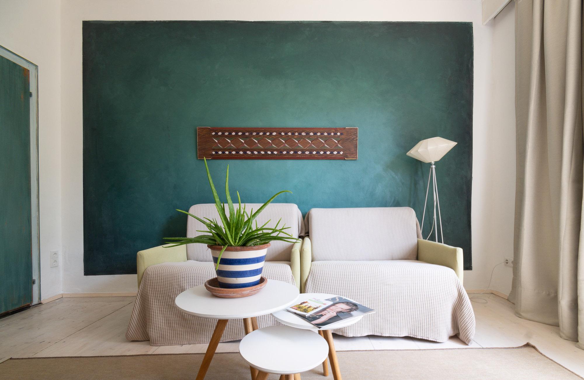 Apartment Farbtopf Schlafzimmer 1