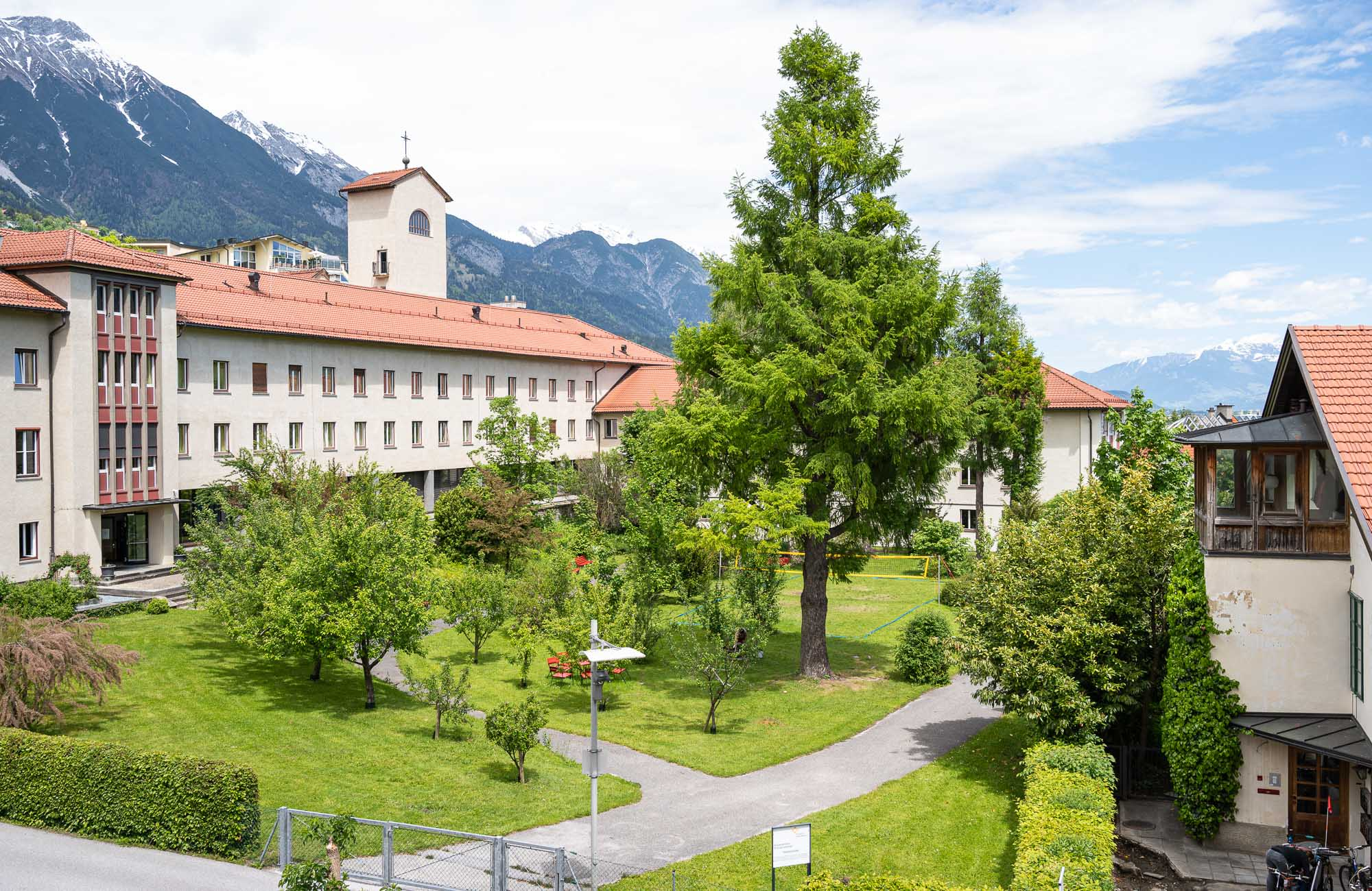 Absteige Innsbruck, Ferienapartment, Ausblick