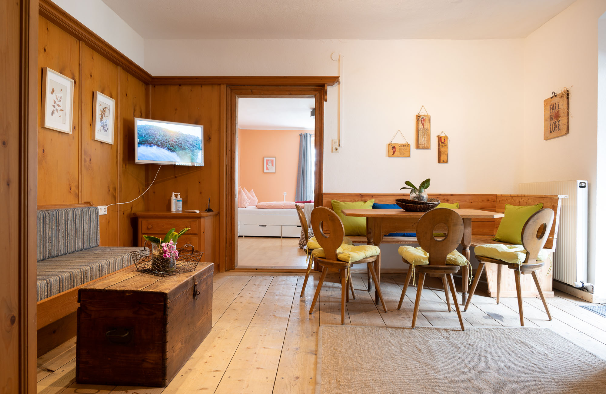Absteige Innsbruck, Ferienapartment, Wohnküche