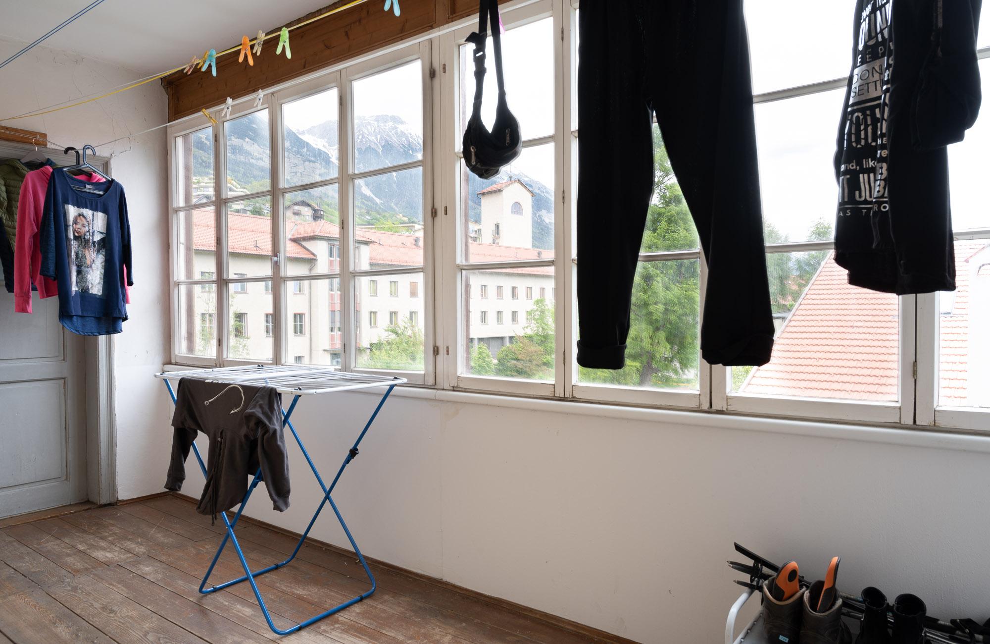 Absteige Innsbruck, Ferienapartment, Loggia
