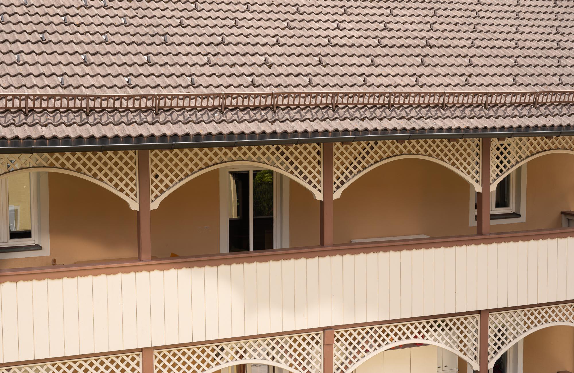 Absteige Innsbruck, Sommerurlaub, Balkon