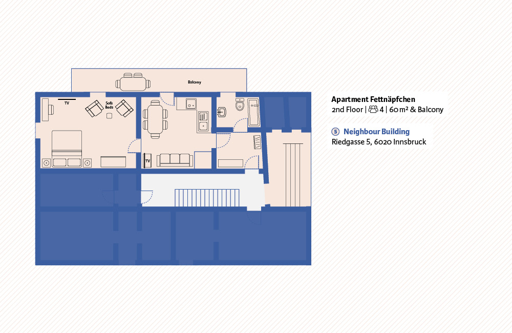 Apartment Fettnäpfchen Innsbruck